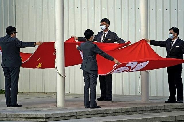 China zieht die Zügel in Hongkong straffer