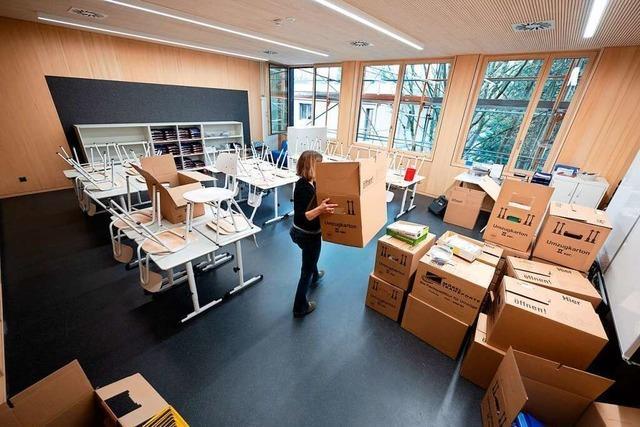 Die Freiburger Loretto-Grundschule hat sechs neue Klassenräume