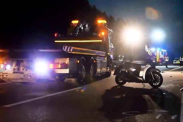 Polizei ermittelt Unfallbeteiligten in Slowenien nach tödlichem Unfall auf der B33