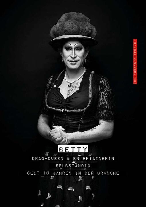 Betty BBQ, Dragqueen und Entertainerin  | Foto: Felix Groteloh