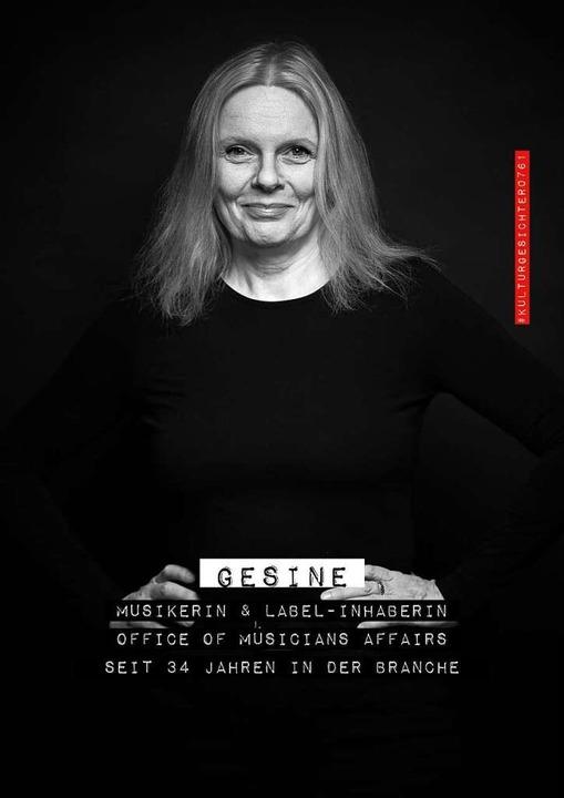 Gesine Bänfer, Musikerin und Label-Inhaberin  | Foto: Felix Groteloh