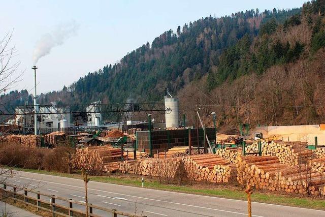 Die Holzwerke Dold können jetzt auf ihrem Gelände in Buchenbach umbauen
