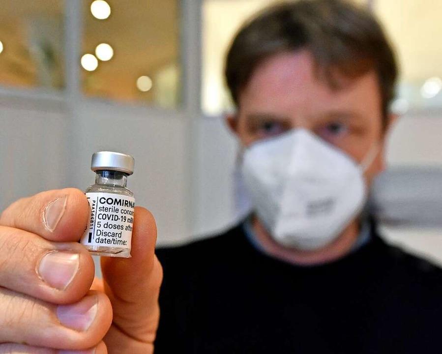 Pascal Seith, Pandemiebeauftragter der Kassenärztlichen Vereinigung  | Foto: Michael Bamberger