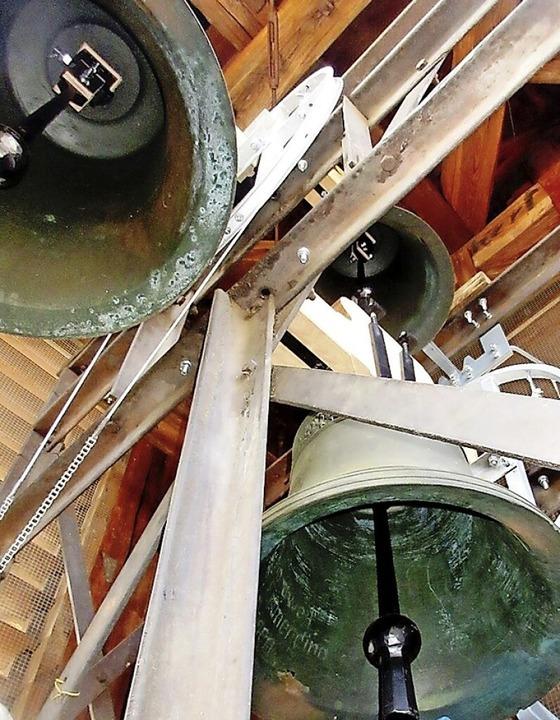 Die Sanierungsarbeiten im Innern des Nordweiler Kirchturms sind abgeschlossen.     Foto: Reiner Merz