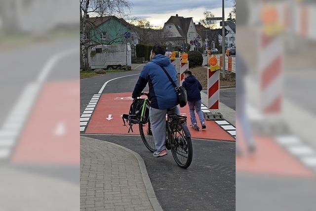 Radfahrer sind nun vorfahrtsberechtigt