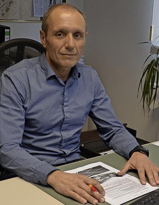 Geschäftsführer Peter Wassmer  | Foto: Edgar Steinfelder
