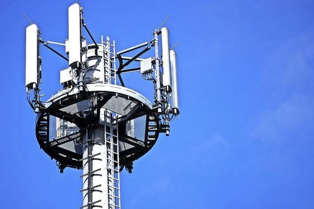 In Riedichen ist ein Funkmast-Standort eingegrenzt