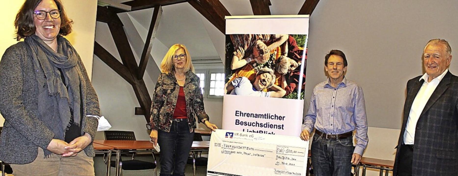 <BZ-FotoAnlauf>Bürgerstiftung Maulburg...ster Jürgen Multner und Bruno Sahner.     Foto: Ralph Lacher