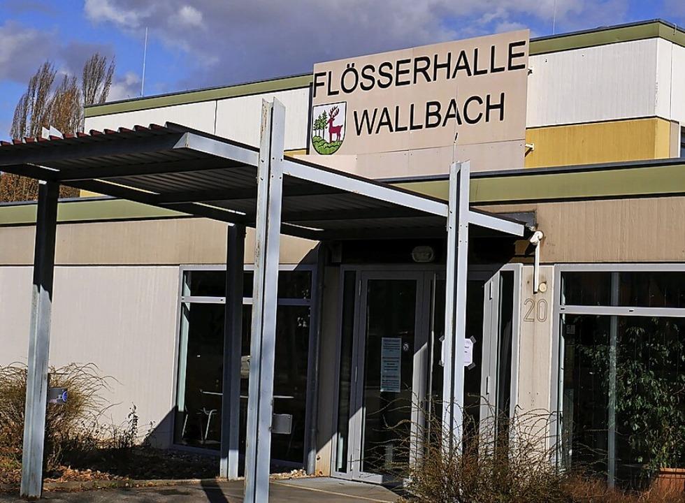 Impfzentrum in der Flößerhalle von Wallbach  | Foto: Michael Gottstein