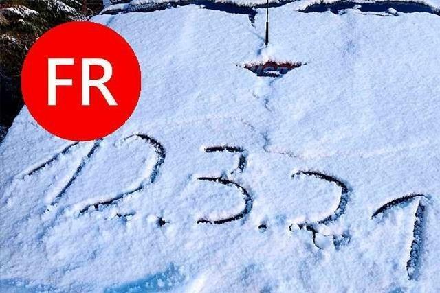 Der Tag in Südbaden: Laute Züge, Schnee und Impfen in der Hausarztpraxis