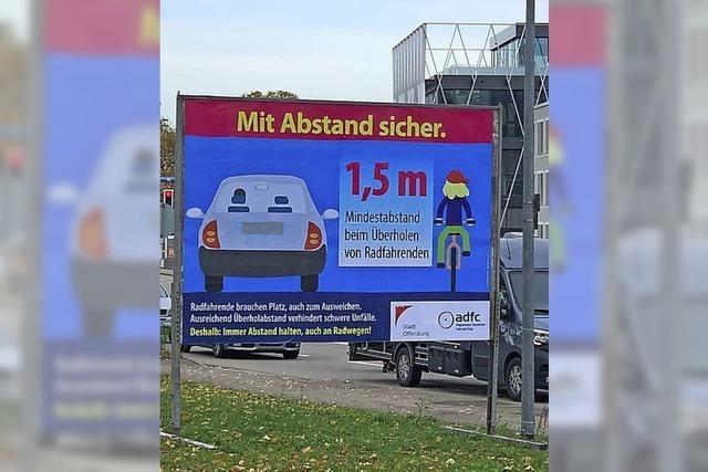 Kampagne für Radler