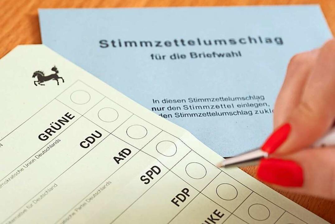Zur Landestagswahl am 14. März stellt ...Wahlkreisen im Verbreitungsgebiet vor.  | Foto: Bernd Weissbrod (dpa)
