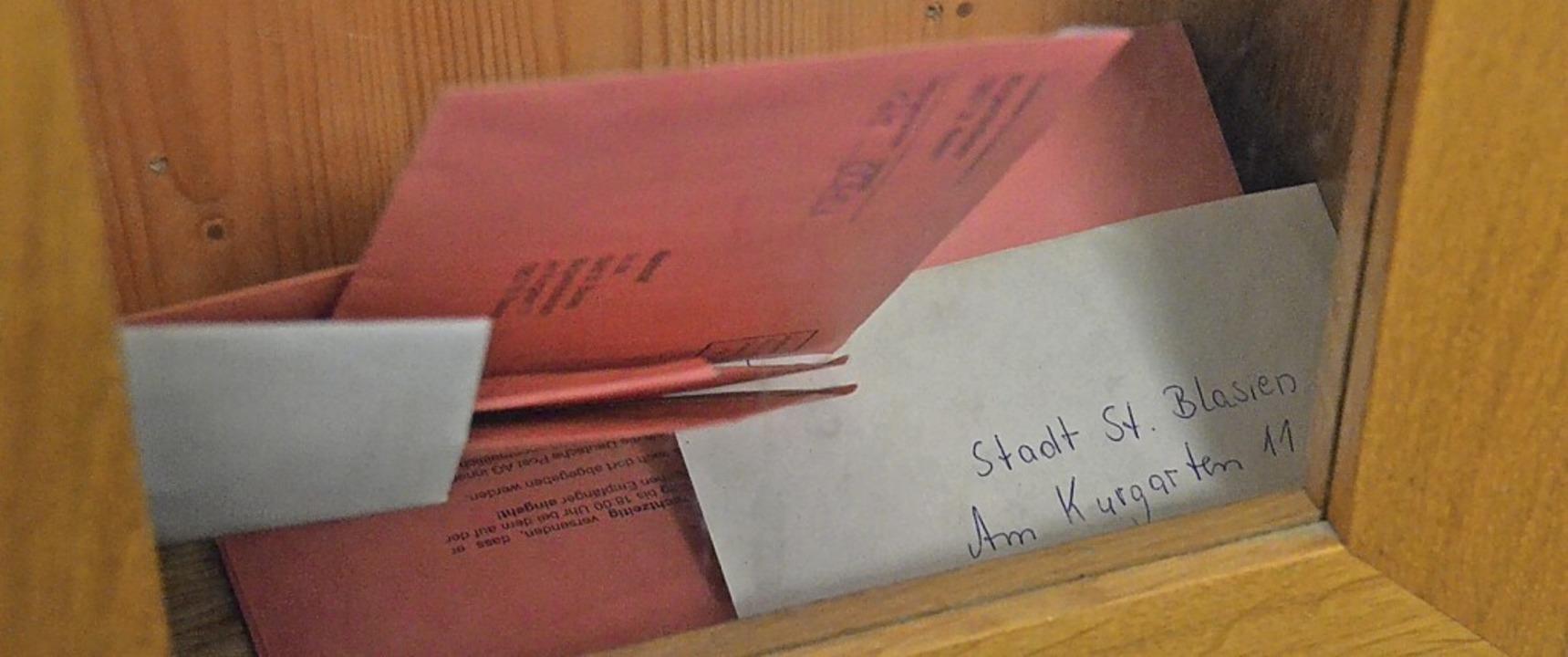 In diesem Jahr geben besonders viele W...(Foto), ihre Stimmen per Briefwahl ab.  | Foto: Sebastian Barthmes