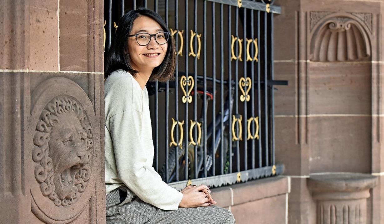 Yin Lin, die neue Vorsitzende des Freiburger Migrantinnen- und Migrantenbeirats    Foto: Michael Bamberger