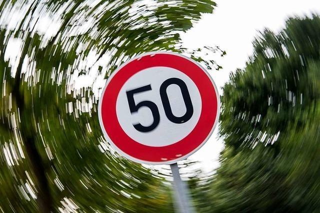 Ministerium: Tempo 50 soll die Regel bleiben – auch in Freiburg