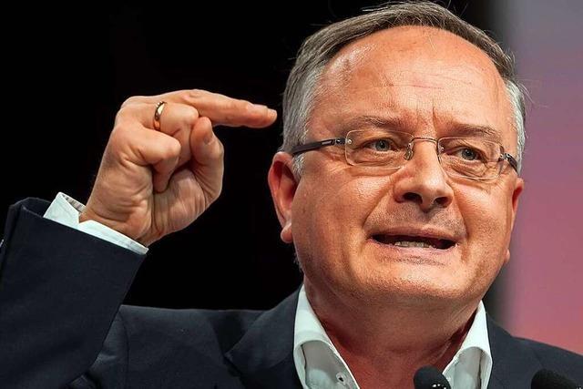 Einer, der anpackt: SPD-Spitzenkandidat Andreas Stoch