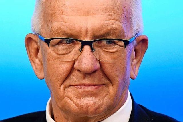 Geht auf Nummer sicher: Grünen-Spitzenkandidat Winfried Kretschmann