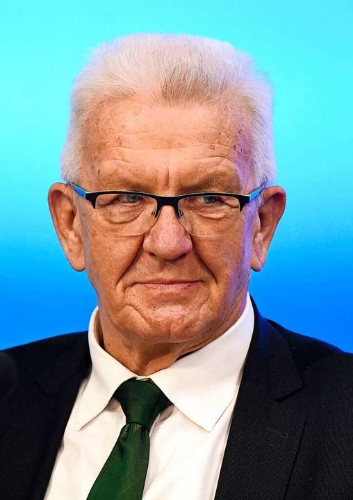 Winfried Kretschmann, Spitzenkandidat der Grünen, FOTO: Thomas Kienzle (AFP)  | Foto: THOMAS KIENZLE (AFP)