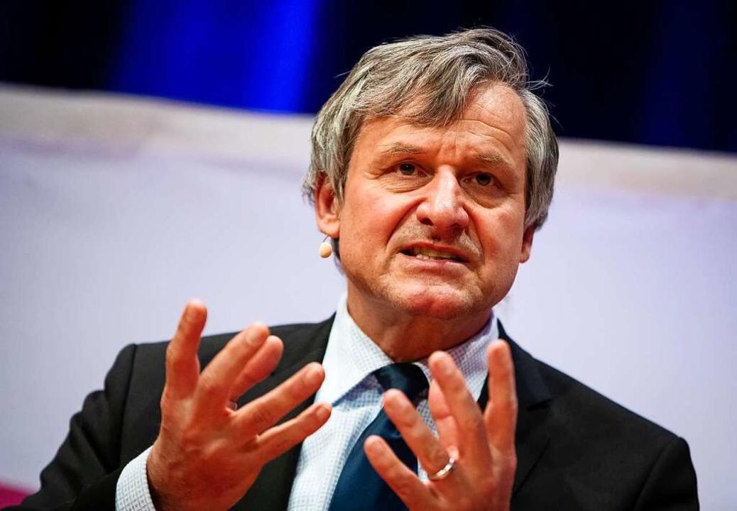 Hans-Ulrich Rülke, Spitzenkandidat der Liberalen FOTO: Christoph Schmidt (DPA)    Foto: Christoph Schmidt (dpa)