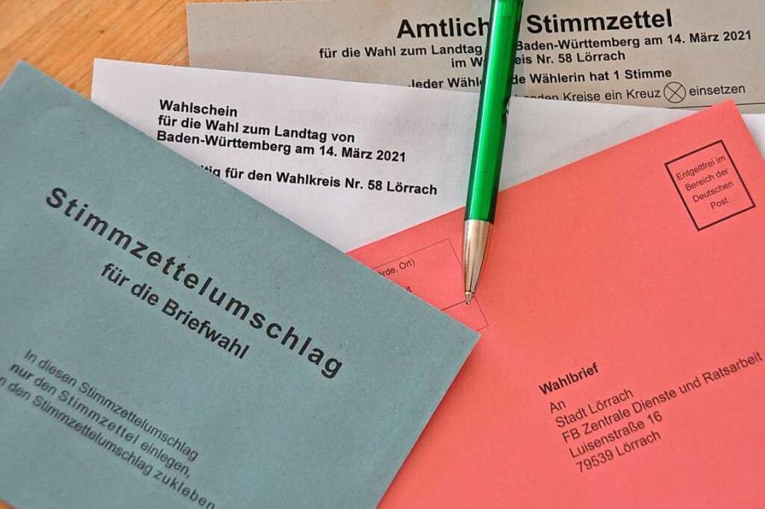 Der Anteil der Briefwähler dürfte sich...ch gegenüber 2016 mehr als verdoppeln.  | Foto: Daniel Gramespacher