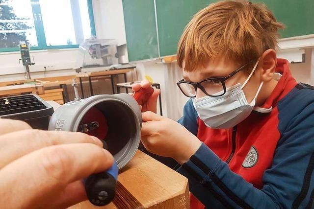Schüler aus Schliengen haben einen Virensauger entwickelt – mit Baumarktmaterial