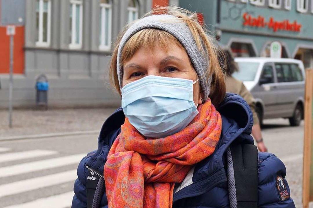 Doris Klausmann (63), Waldkirch: Dass ...Woche sowieso nicht mehr möglich sein.    Foto: Savanna Cosma
