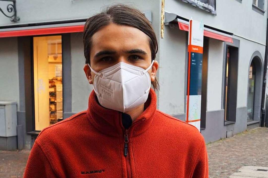 Tilmann Sommer (29), Waldkirch: Tatsäc... beispielsweise Klamotten einzukaufen.    Foto: Savanna Cosma