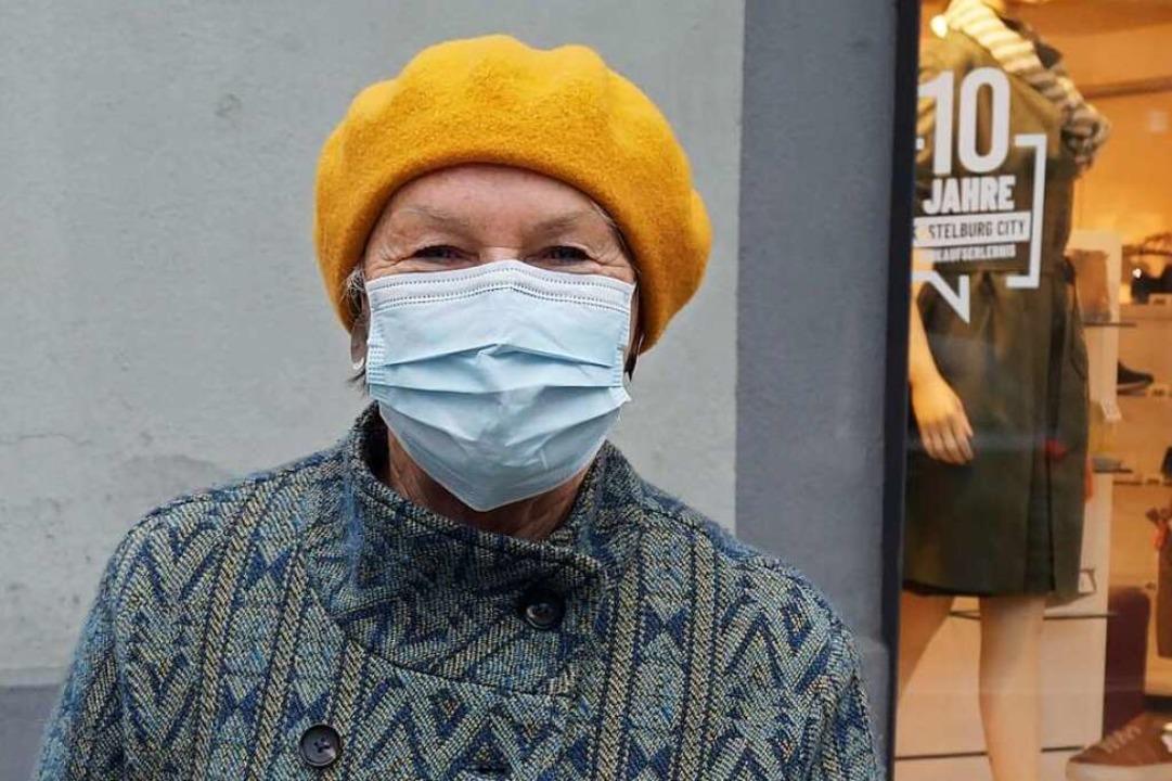 Elisabeth Speer (66), Niederwinden: Ic...den Inzidenzwert im Blick zu behalten.    Foto: Savanna Cosma