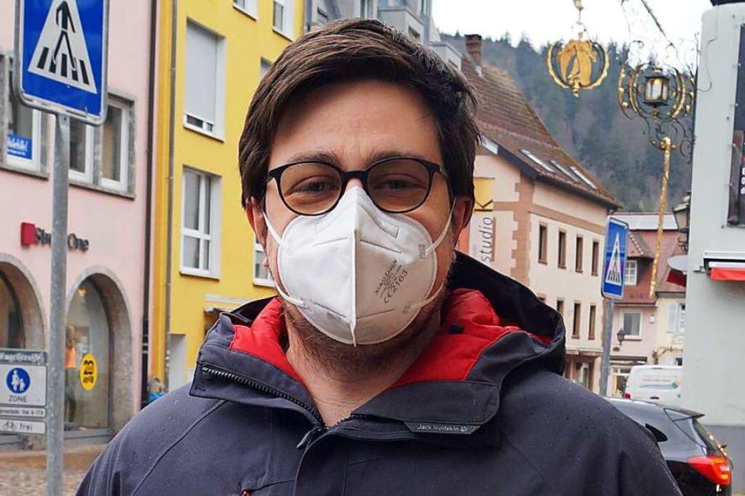 Jörg Klausmann (38), Waldkirch: Es ist...t ist. Und das wäre nicht zielführend.    Foto: Savanna Cosma