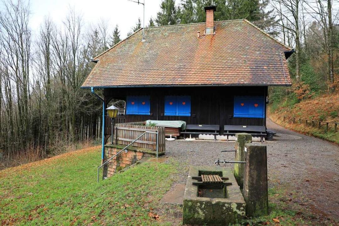 Die Lahrer Hütte auf dem Geisberg bleibt noch geschlossen.  | Foto: Christoph Breithaupt
