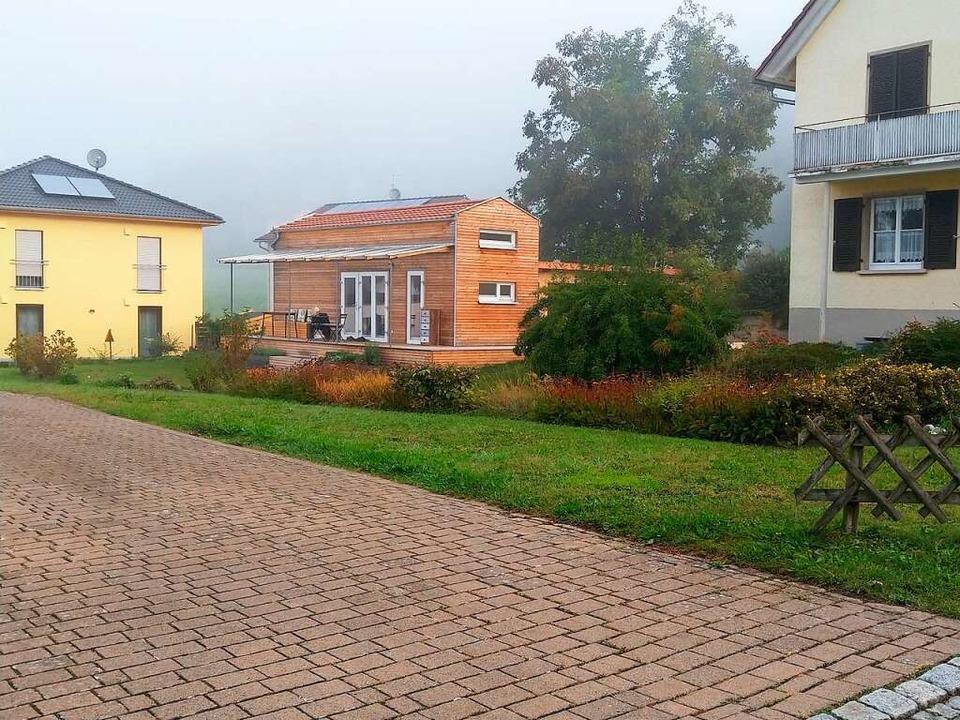 Wie in diesem Baugebiet in Owingen-Bil...r Neubaugebiet Wassersack II einfügen.    Foto: Christa Maier