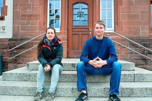 Neue Sprecher des Jugendgemeinderats in Denzlingen
