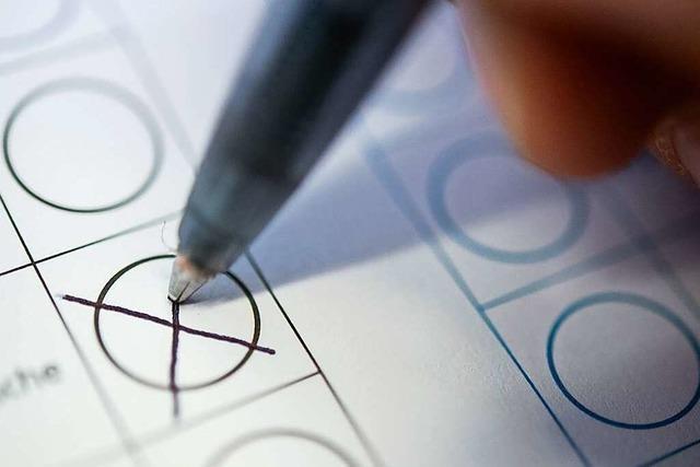 Bis zu 43 Prozent Briefwähler im Kandertal und in Efringen-Kirchen