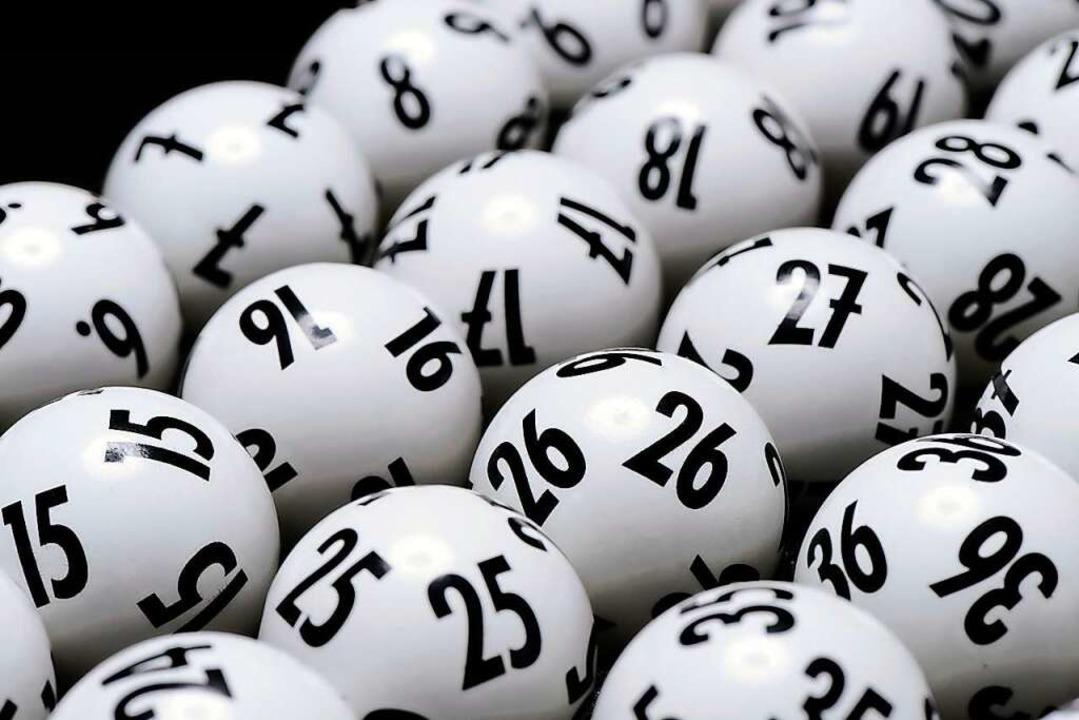 Spielschein wurde anonym abgegeben.  | Foto: Lotto BW (dpa)