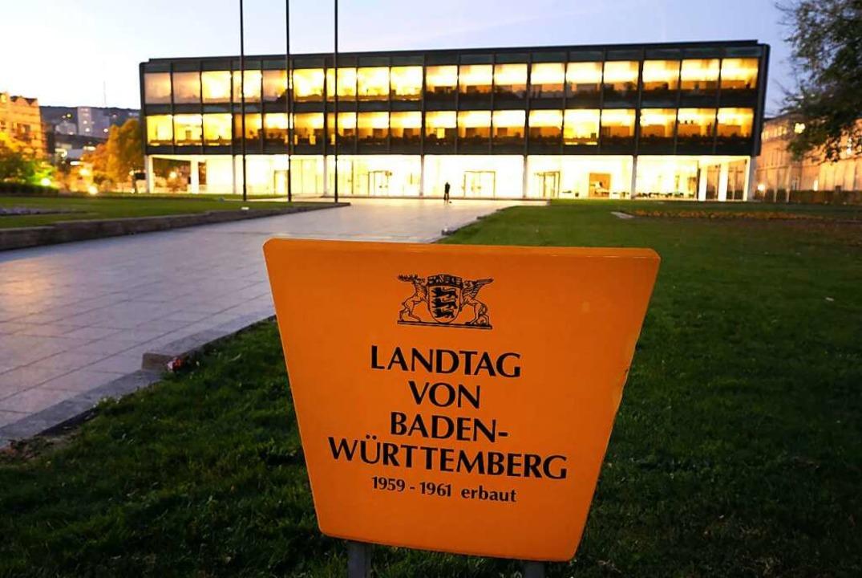 Landtag in Stuttgart    Foto: Bernd Weissbrod (dpa)