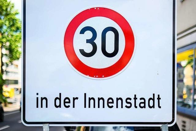 Flächendeckende 30er-Zone in Freiburg soll nur für Ausländer gelten