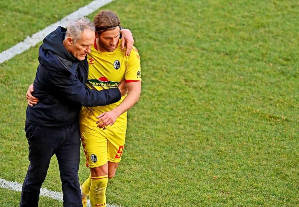 Lucas Höler tauchte gegen Mainz auf einer ungewohnten Position auf.    Foto: Torsten Silz (dpa)