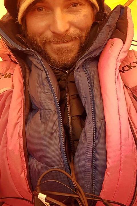 In den Bergen daheim: Daniel Hug ist M...lpinist, Fotograf und Lawinenforscher.    Foto: privat