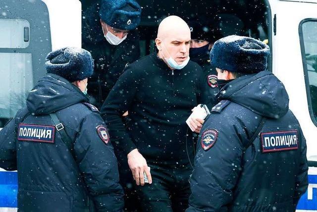 Massenfestnahmen bei Oppositionstreffen in Russland