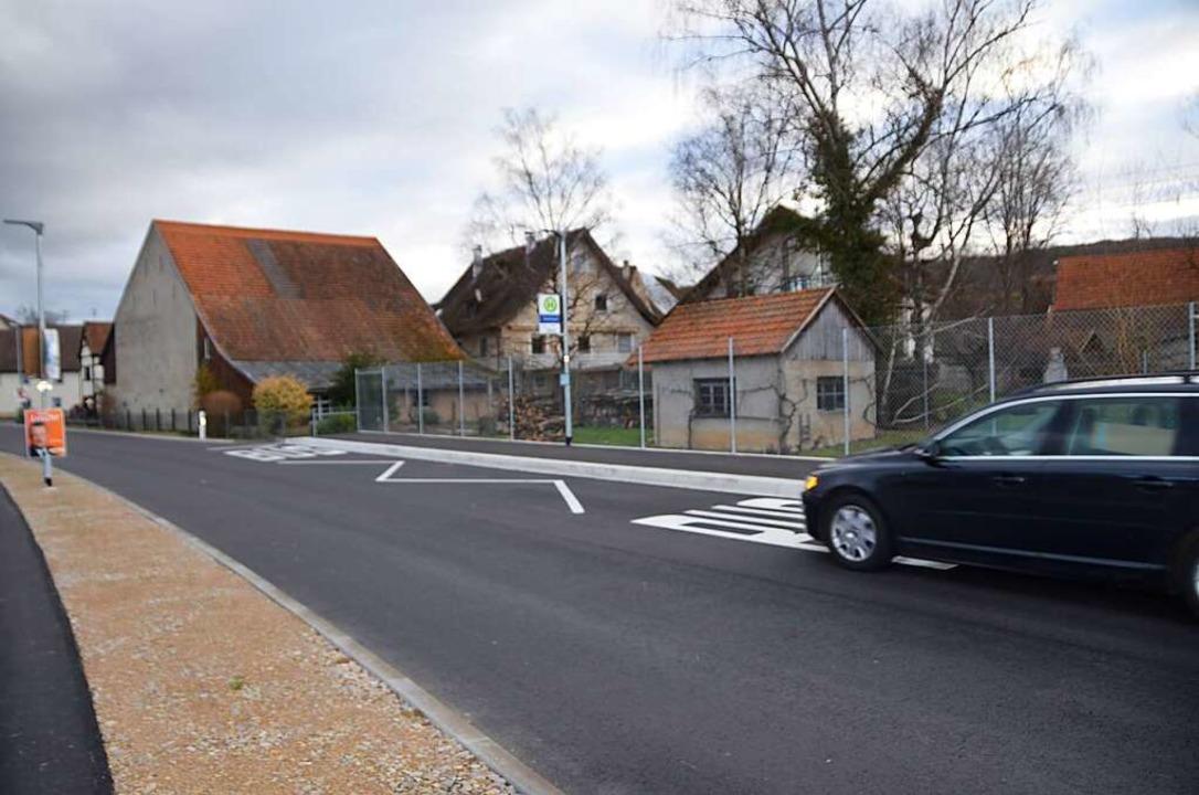 In Welmlingen können Mobilitätseingesc...reits ebenerdig in den Bus einsteigen.  | Foto: Victoria Langelott