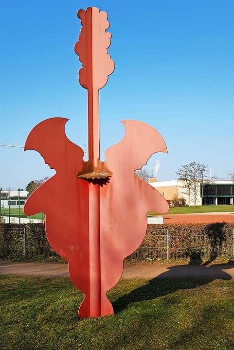 Emmendinger Skulpturenweg im Stadtteil...k in the Pulpit (Celia Brown,  2003).   | Foto: Gerhard Walser