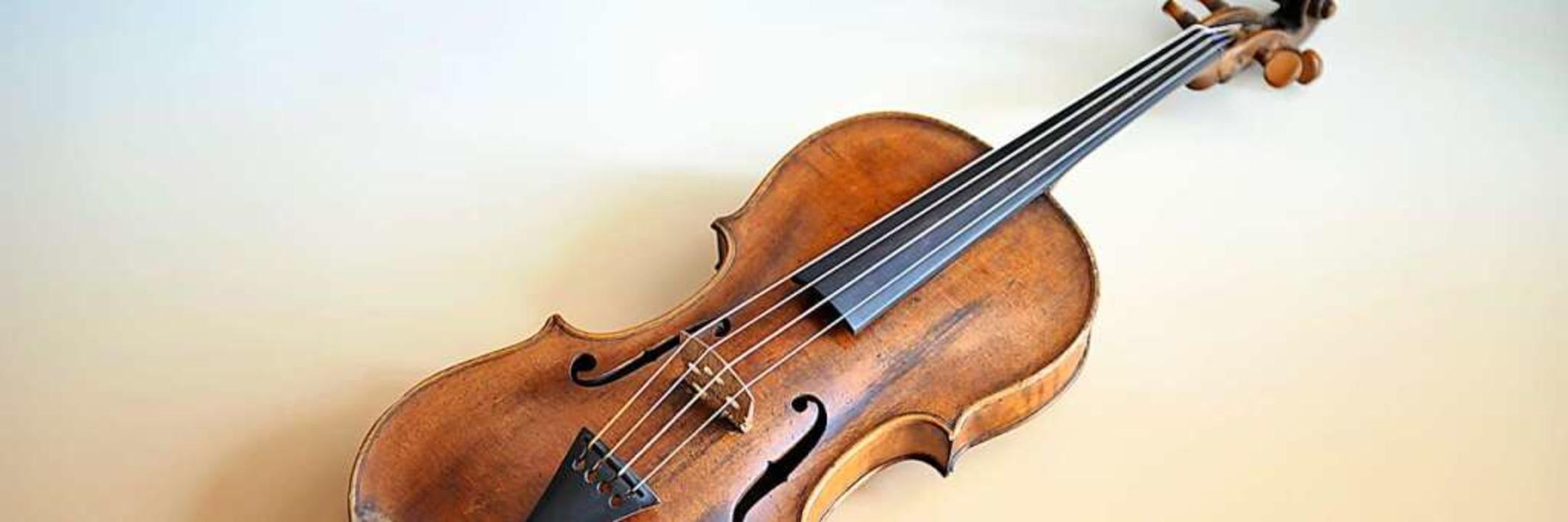 Viola von 1771 aus der Instrumentensammlung  | Foto: Gerfried Sitar