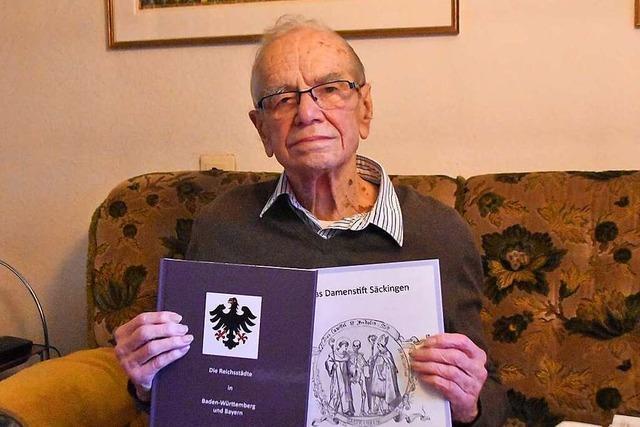 Der Schwörstädter Wolfgang Klein hat zwei Bücher geschrieben – mit 98 Jahren