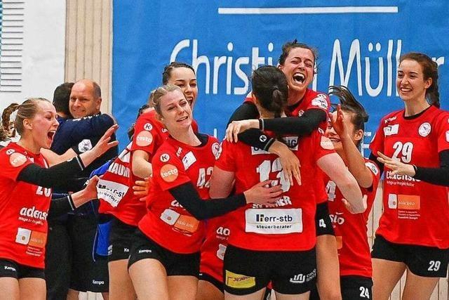 Fotos: Handballerinnen der HSG Freiburg beenden Durststrecke in der zweiten Liga