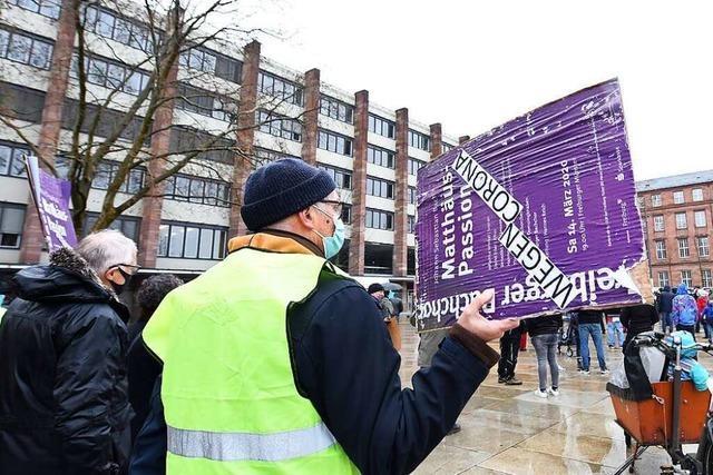 Freiburgs Kulturbranche macht auf ihre Situation aufmerksam