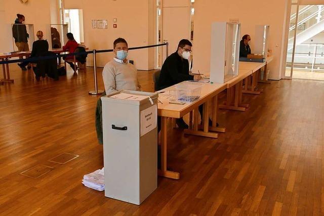 Hoher Briefwahlanteil im Landkreis Emmendingen sorgt für entspannte Situation in Wahllokalen