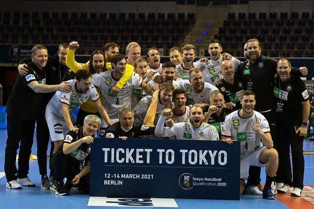 Die DHB-Auswahl qualifiziert sich für Olympia