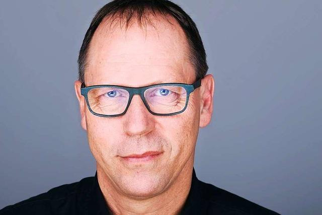 BZ-Chefredakteur Thomas Fricker: