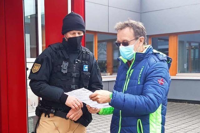 FDP-Kandidat Felix Düster kann seinen Heimvorteil in Grenzach-Wyhlen nutzen