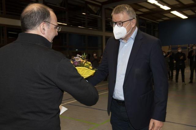 Dirk Blens bleibt Bürgermeister von Sulzburg